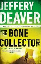 The Bone Collector: The First Lincoln Rhyme Novel, Deaver, Jeffery, Good Book