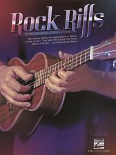 Rock Riffs for Ukulele with TAB Music Book