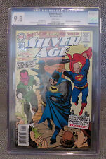 CGC Graded DC Comic: 9.8 SILVER AGE Batman Superman Green Lantern Reprint 2000