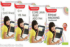 Learn ETHICAL HACKING, C, C++, CORE JAVA, ADO .Net, RUBY, C# (C Sharp) and VB .N
