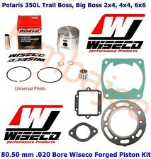 Polaris 350L Trail Big Boss ATV 80.50 mm .020 Bore Wiseco Piston Bearing Gasket