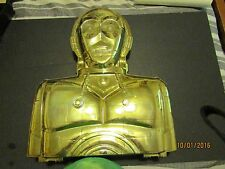 VINTAGE C-3PO Darth Vader Action Figure Carrying Case 1983 Complete WITH INSERT