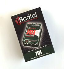 Radial JDI direct box BEST PASSIVE DI MADE Jensen Transformer -Shipping Included