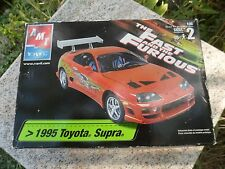 THE FAST AND FURIOUS 1995 Toyota Supra MODEL KIT (SEALED) AMT/ ERTL 31980