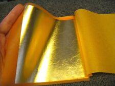 """IMITATION GOLD LEAF TRANSFER TYPE (BK:10,000 #2.5 color)  5 1/2"""" x 5 1/2"""""""