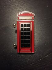 2012 London Olympics Phone Booth Pin With Opening Door