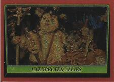 1999 Topps Star Wars Chrome Archives #78 Unexpected Allies   Ewok