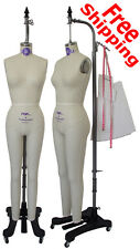 Full Body Female Dress Form PGM Professional dress forms w Collapsible Shoulder