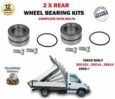 FOR IVECO DAILY 35C12 35S12 35C14 35S14 2003-- NEW 2 X REAR WHEEL BEARING KITS