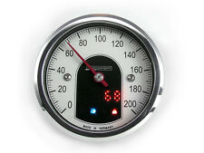 Motogadget MG5001012 Motoscope Tiny 49mm Motorcycle Analog Speedo Polished Gauge