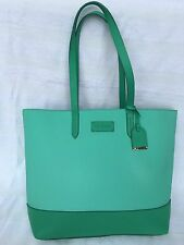 New Amazing Cole Haan B41988 Haven Leather/Pebbled Tote Large Green Thumb