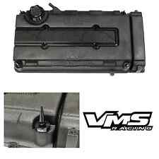 VMS BLACK ENGINE DRESS UP KIT B16 B18 VALVE COVER INSERT WASHER SEAL SPIKE NUT