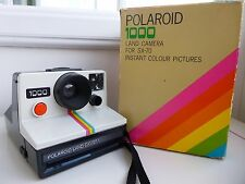 Boxed SX70 Polaroid 1000 Land Instant Camera