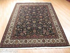6x9 Fine Super Persian Museum Intricate Kashan Handmade-knotted Wool Rug 582892