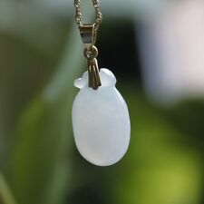 7.95ct ** G18K Certified Type A Natural Beautiful Icy Jadeite JADE Small Pendant