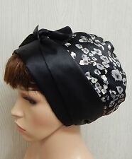 Jewish head wear tichel, satin bonnet head scarf, silky hair wrap, head scarves