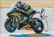 Bradley SMITH Signed Photo AFTAL Autograph COA Yamaha Rider Moto2 Goodwood FOS