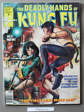 Deadly Hands Kung-Fu #32 1st DAUGHTERS of the DRAGON 1977 IRON FIST Netflix VF-