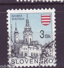 Slowakei Nr.  206  gest.  Städte Baňská Bystrica Neusohl Besztercebánya  -9