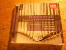 Hindemith - Kammermusiken 1-7 [2 CD Box] Abbado Shallon