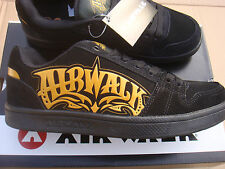 BRAND NEW BLACK/ORANGE AIRWALK TRIPLE X  trainers UK size 7
