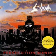 "SODOM ""PERSECUTION MANIA"" CD NEW+"