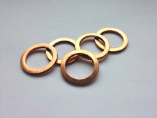 Copper Sump Plug Washers (x5) - 12x17x1.5 - Mercedes, Mini & More!