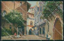 Torino Città Castello Medioevale cartolina XB2642
