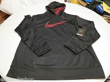 Nike Therma fit stay warm coat L Men's active hoodie jacket BLK pullover 657533
