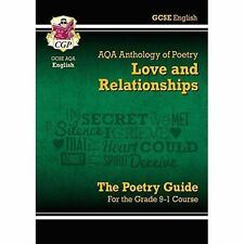 New GCSE English Literature AQA Poetry Guide: Love & Relationships NEW 2017