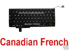 "Apple MacBook Pro Keyboard - 17"" Unibody A1297 - CF - Canadian French"
