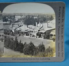 Stereoview Photo Johannesburg Panorama From The Fort South Africa c1900 Keystone