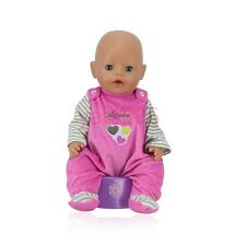 Meired  Doll Clothes Wear for 43cm Baby Born zapf (only sell clothes )