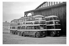 pt8954 - Doncaster Trollybus no 343 at Lester Aven in 1955 - photograph 6x4