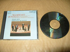 W.A. Mozart Quintets Suk/Smetana cd 8 tracks 1983 Made In Japan Ex Condit Rare