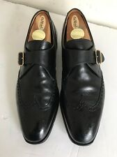 Peal & Co. For Brooks Brothers Medallion Monk Strap  UK 9 1/2 US 10-10 1/2 $645