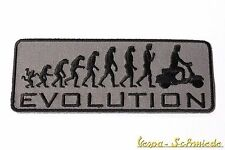 "VESPA Aufnäher ""Evolution"" - V50 PK XL PX PV GT GTR TS GL GS Sprint Rally Patch"