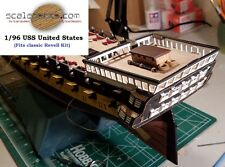 1/96 USS United States Wood Deck for Revell by Scaledecks.com