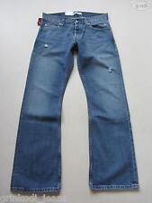 Levi's® 512 Bootcut Jeans Hose, W 33 /L 32, NEU ! Frayed Denim, Einzigartig ! 48