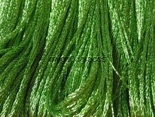 DMC Light Effects Embroidery Floss Color E703 Light Green Precious Metal Effects