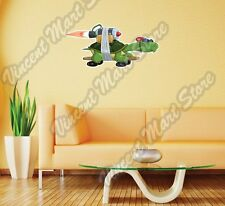 "Turtle Jet Engine Skateboard Speed Wall Sticker Room Interior Decor 14""X25"""