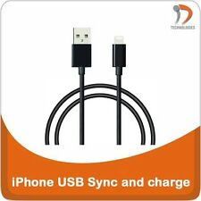 iPhone Câble USB de recharge USB Datakabel USB Data Cable Synchronisation Black