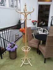 New hat and coat wood hanger rack stand antique style