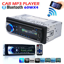 Car Radio Bluetooth 1 DIN In Dash 12V SD/USB Mp3 Aux Input FM Stereo Head Unit