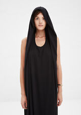 Complex Geometries - BLACK SQUARE HOOD GOWN – Small
