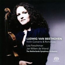 Beethoven: Violin Concerto; Romances Super Audio Hybrid CD (CD, Oct-2010,...