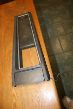 1969-70 Mustang Cougar Original Used black Console Center Plate insert automatic