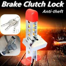 Universal Brake Pedal Lock Security Car Stainless Steel Clutch Lock Anti-theft