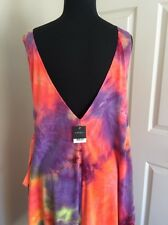 TOPSHOP PARTY VACATIONS CRUISES WITH TAGS RARE DESIGN UNIQUE DRESS ML USA