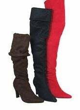 STUNNING BLACK PIRATE/SLOUCH/OVERKNEE BOOTS.SIZE 41/10